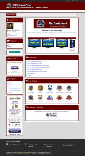 Student Dashboard Example