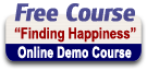Take a free demo course by clicking here. You do not need to be registered to view the course, but do to be registered to actually take the course.