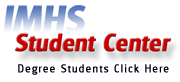 Degree Program Students, Click Here for the Student Center